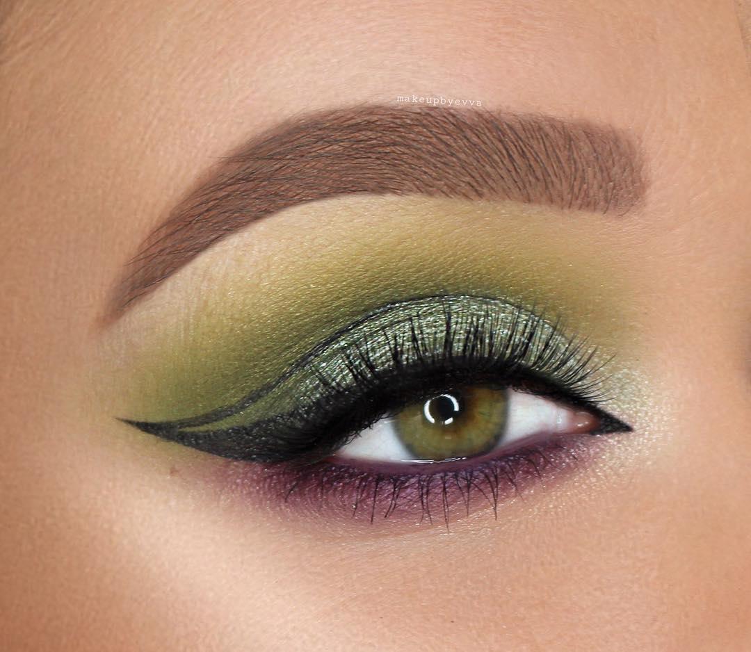 макияж глаз для рыжих фото 16