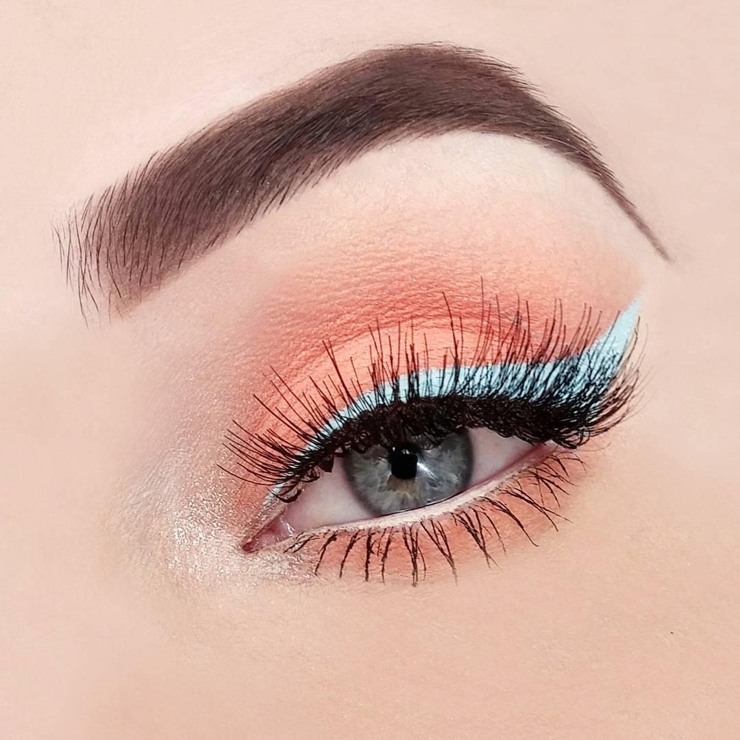 макияж глаз для рыжих фото 6