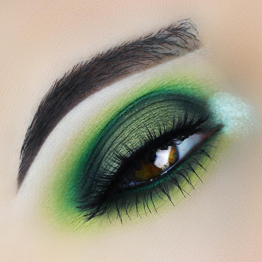 макияж глаз для рыжих фото 10