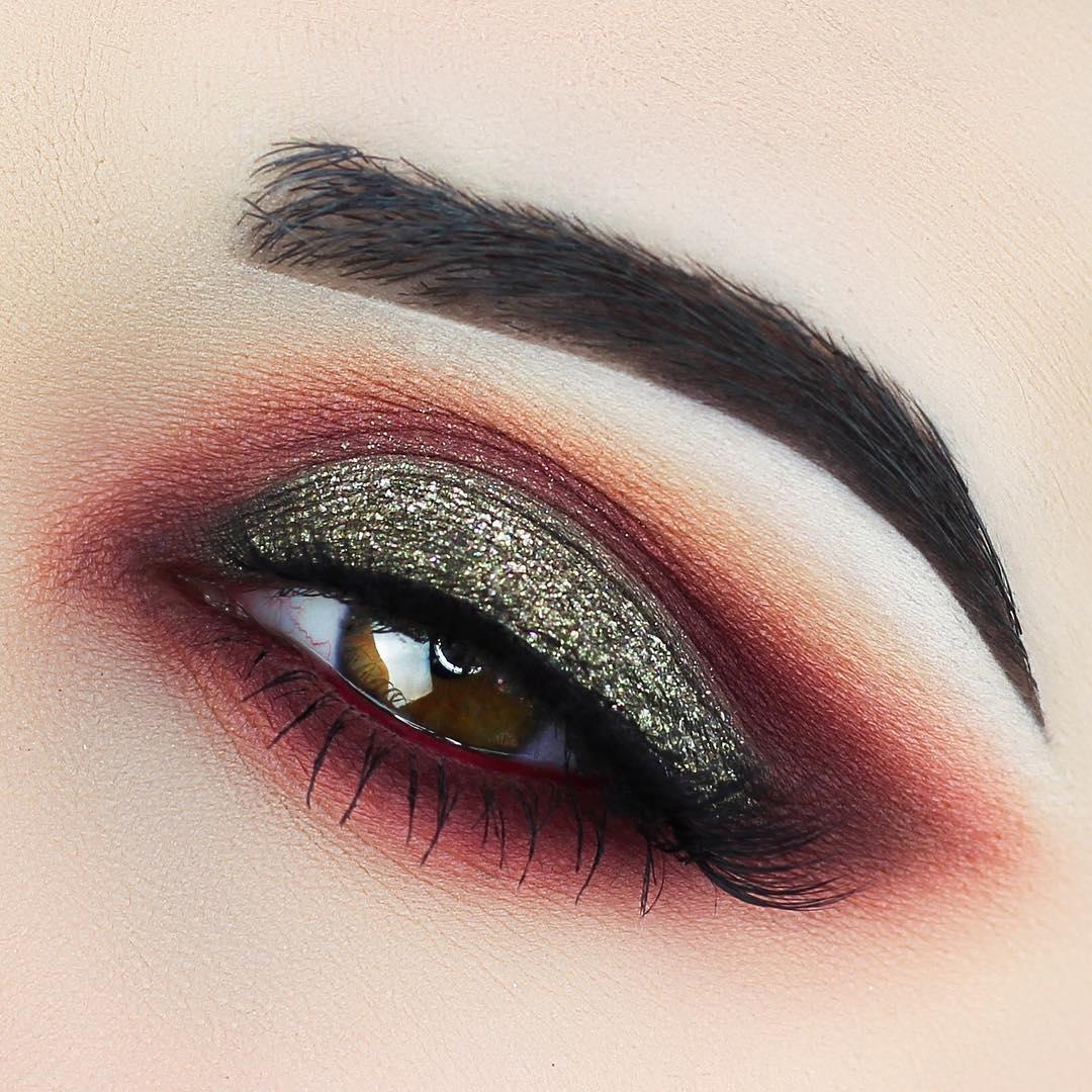 макияж глаз для рыжих фото 11