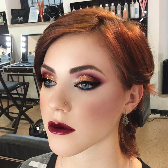 макияж глаз для рыжих фото 5