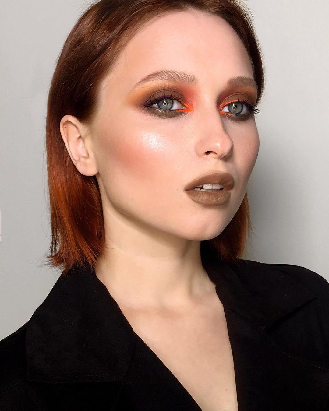 макияж глаз для рыжих фото 7