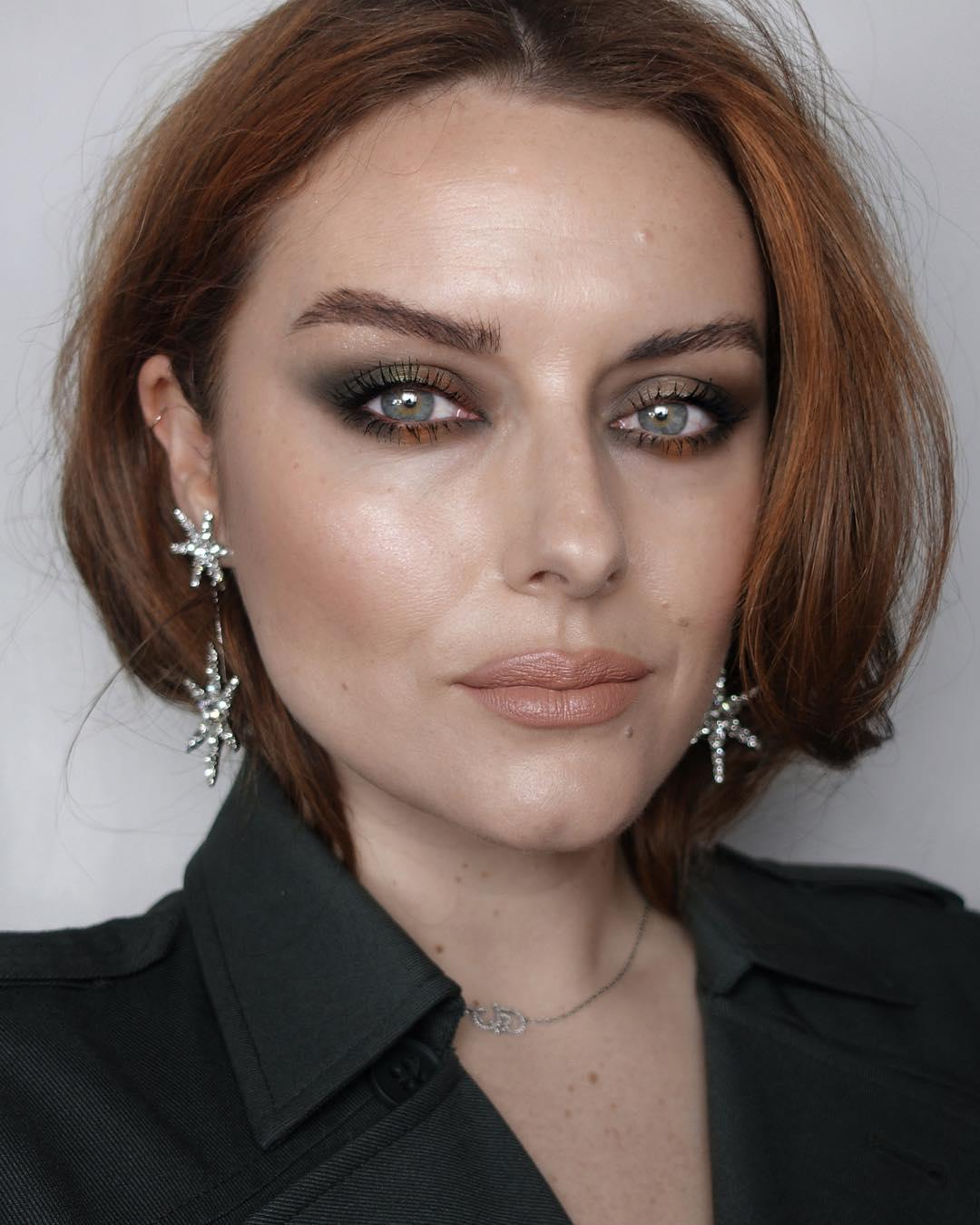 макияж глаз для рыжих фото 1