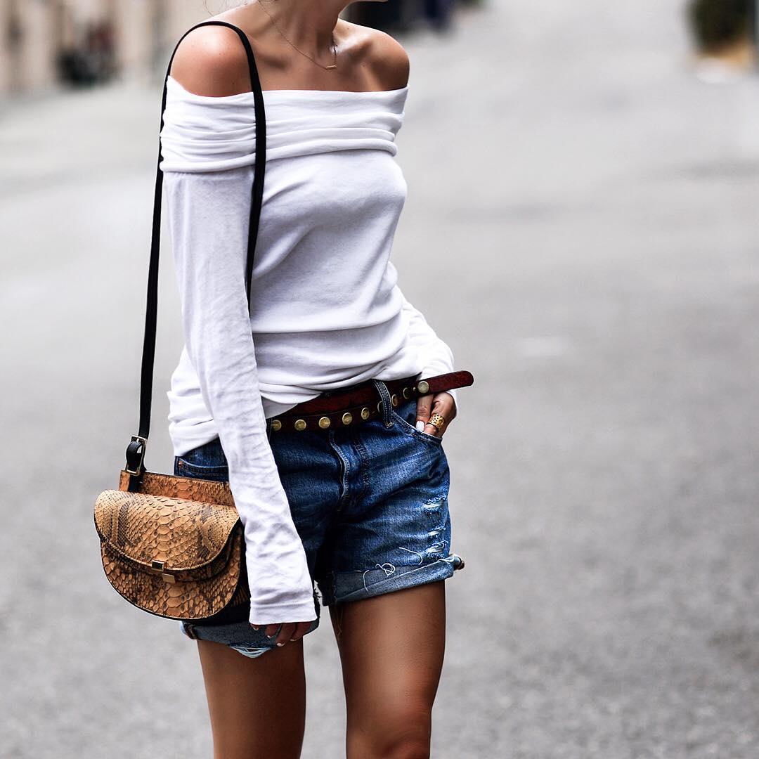 вещи, которые модно носить с ремнем фото 8