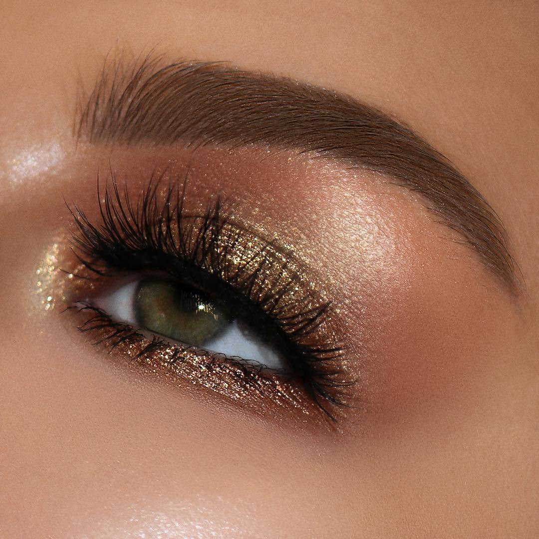 легкий макияж для зеленых глаз фото 13