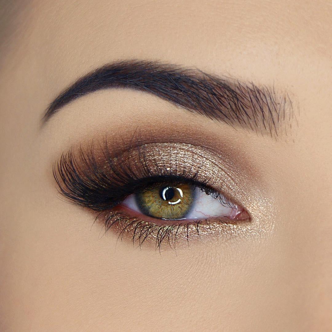 легкий макияж для зеленых глаз фото 5