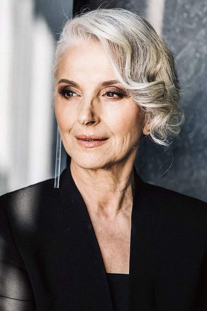 причёски для женщин старше 60 лет фото 11