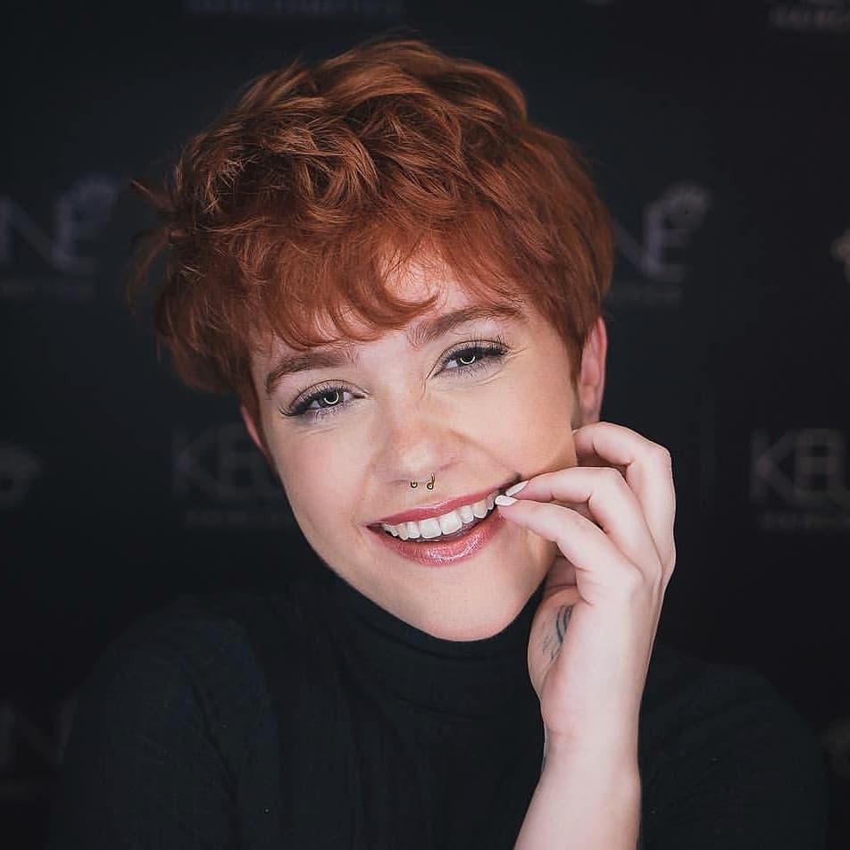 пикси для рыжих волос фото 19