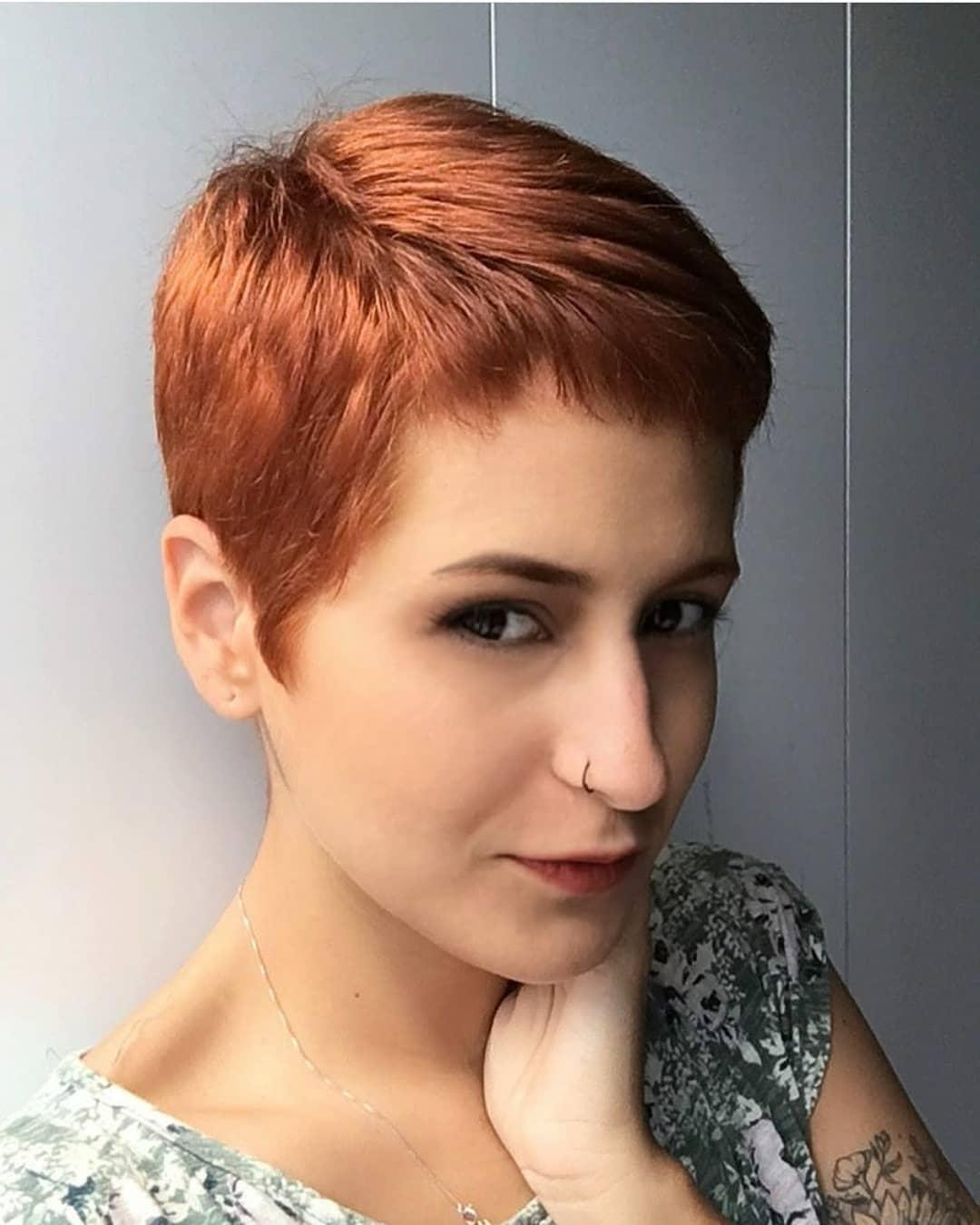 пикси для рыжих волос фото 18