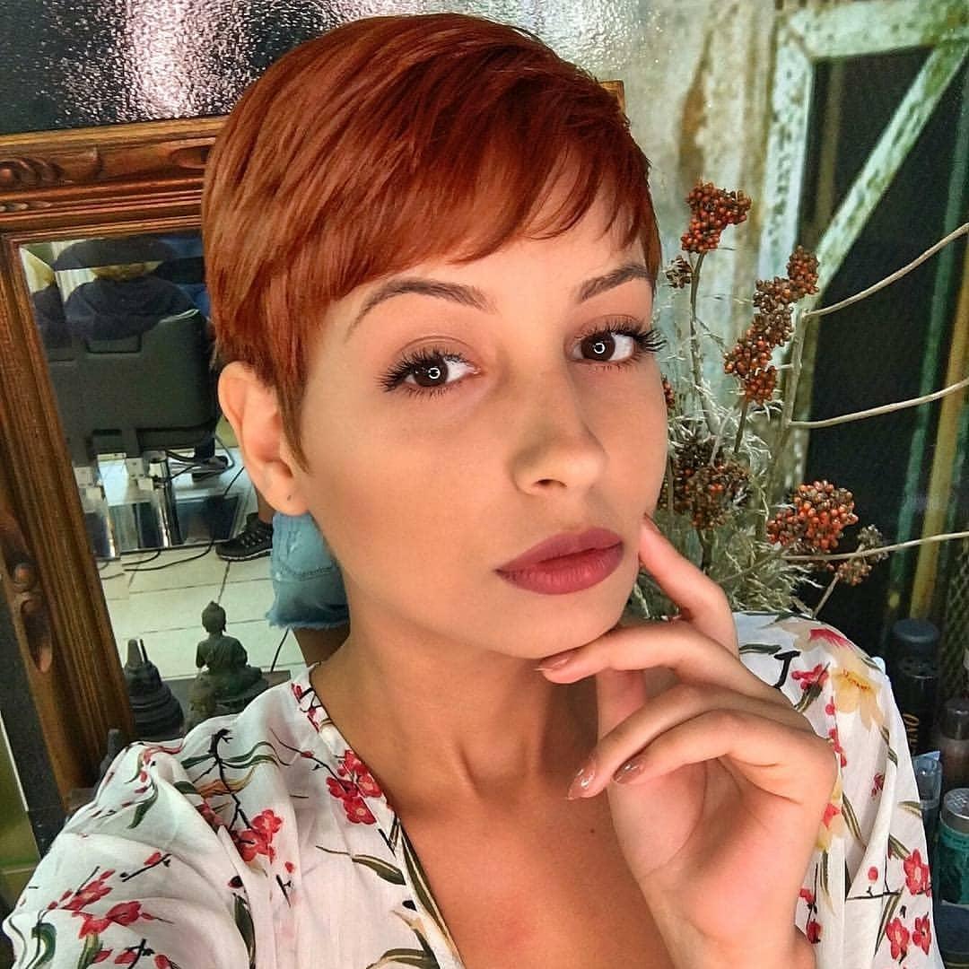 пикси для рыжих волос фото 14