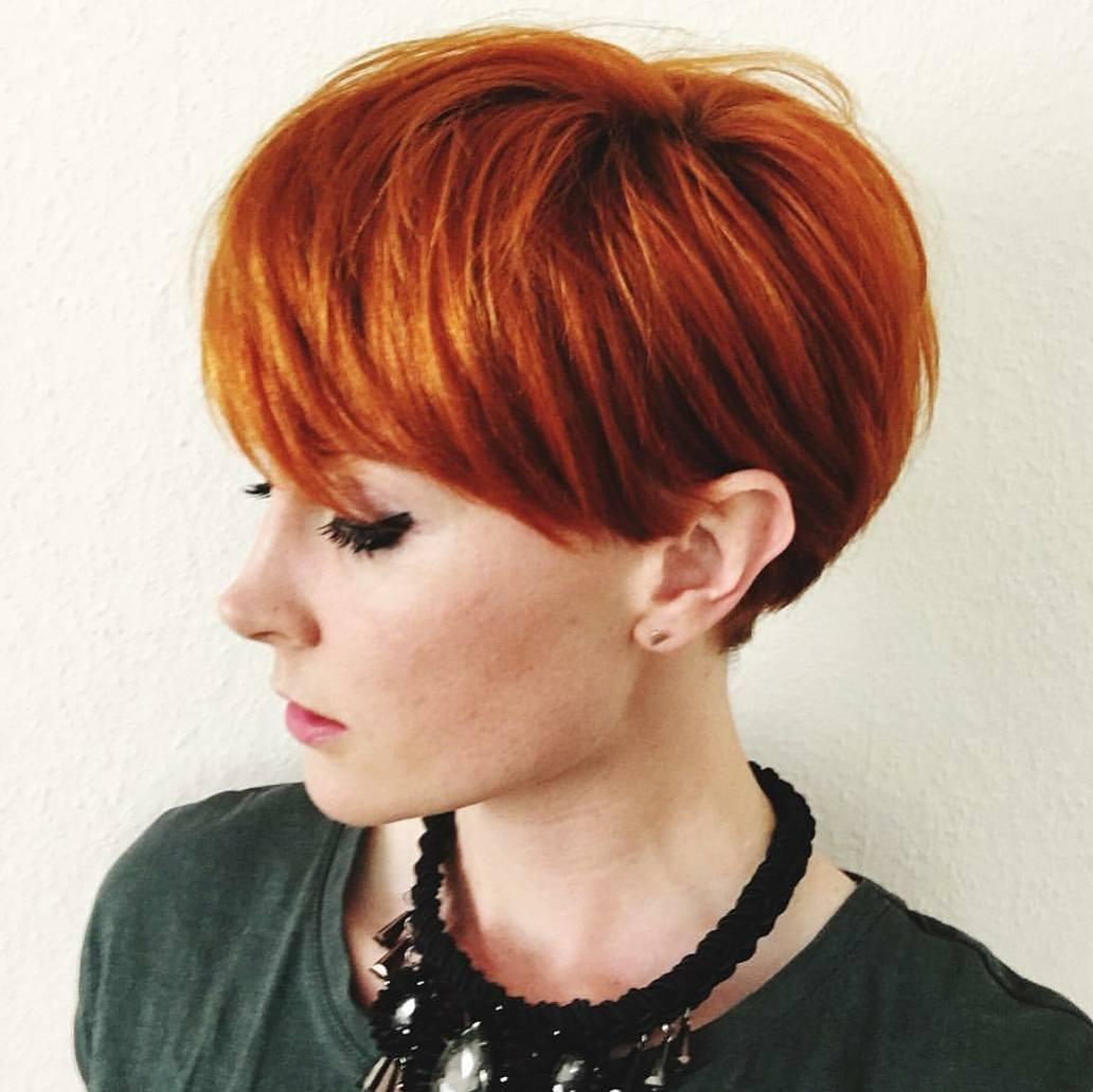 пикси для рыжих волос фото 7
