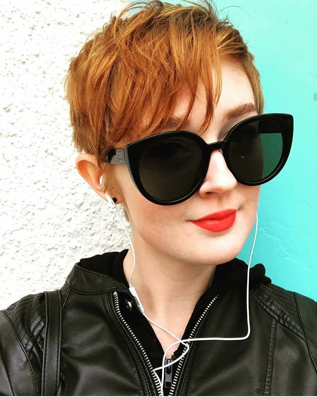 пикси для рыжих волос фото 13