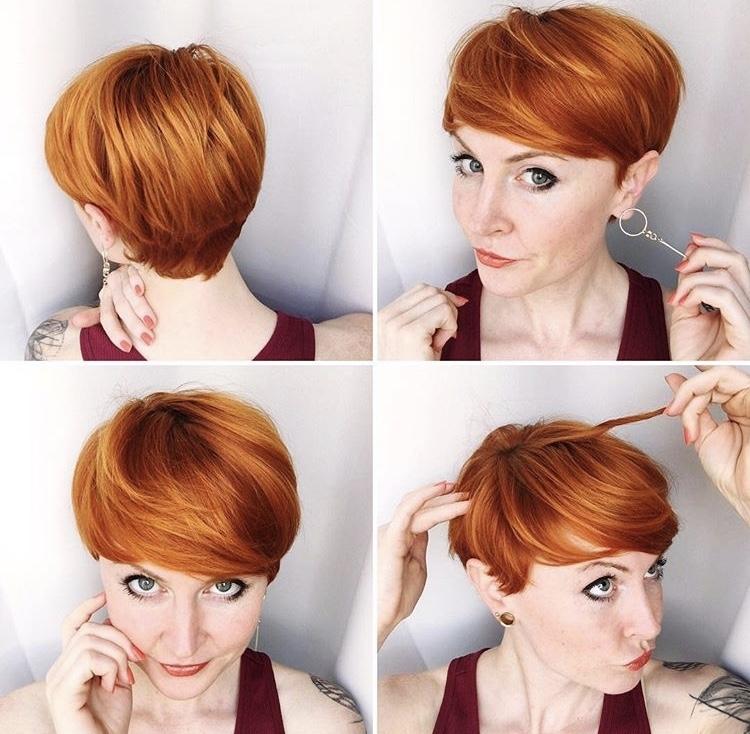 пикси для рыжих волос фото 4
