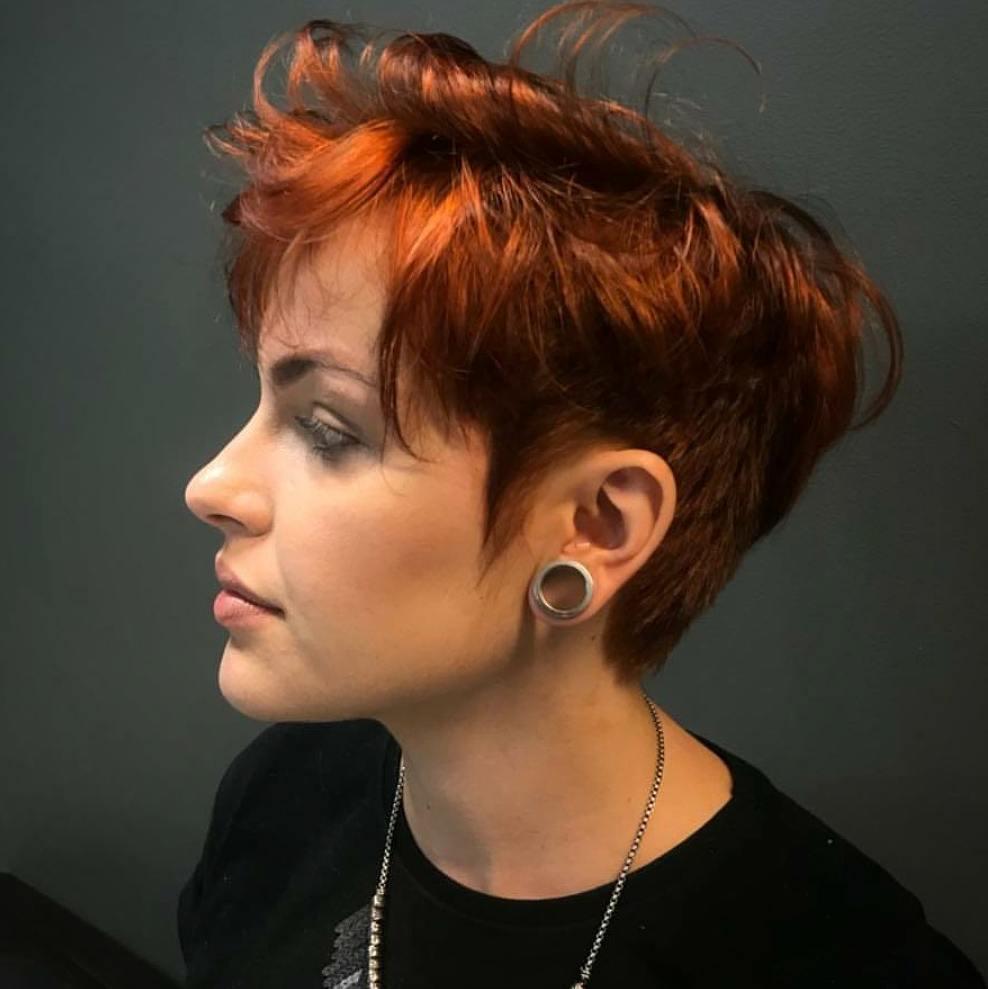 пикси для рыжих волос фото 9