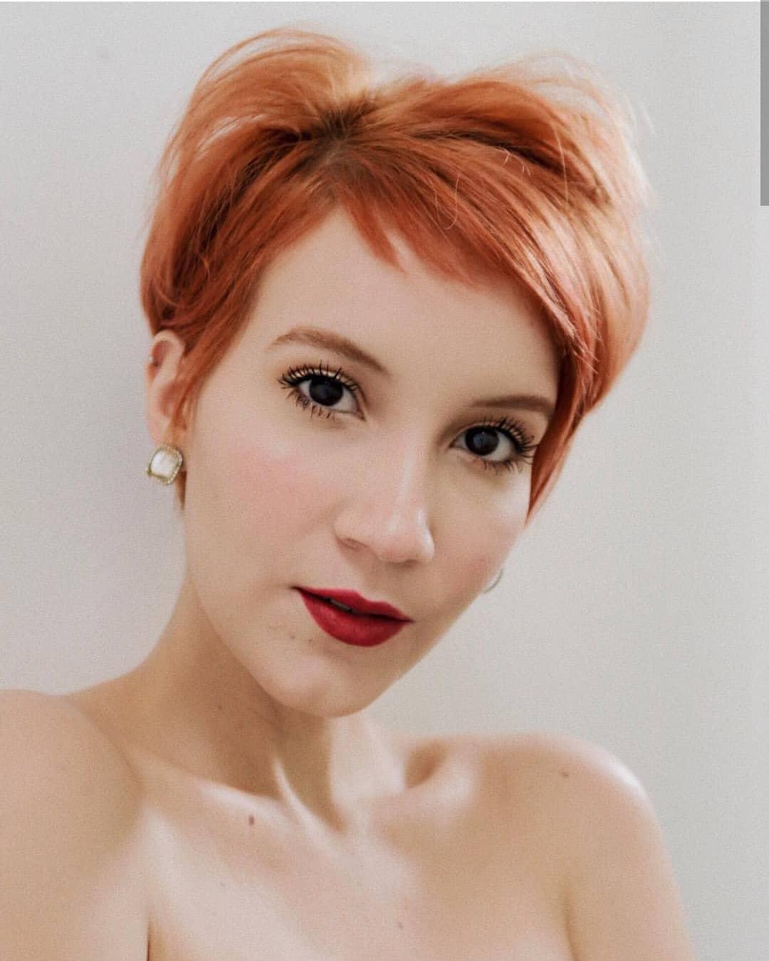 пикси для рыжих волос фото 20