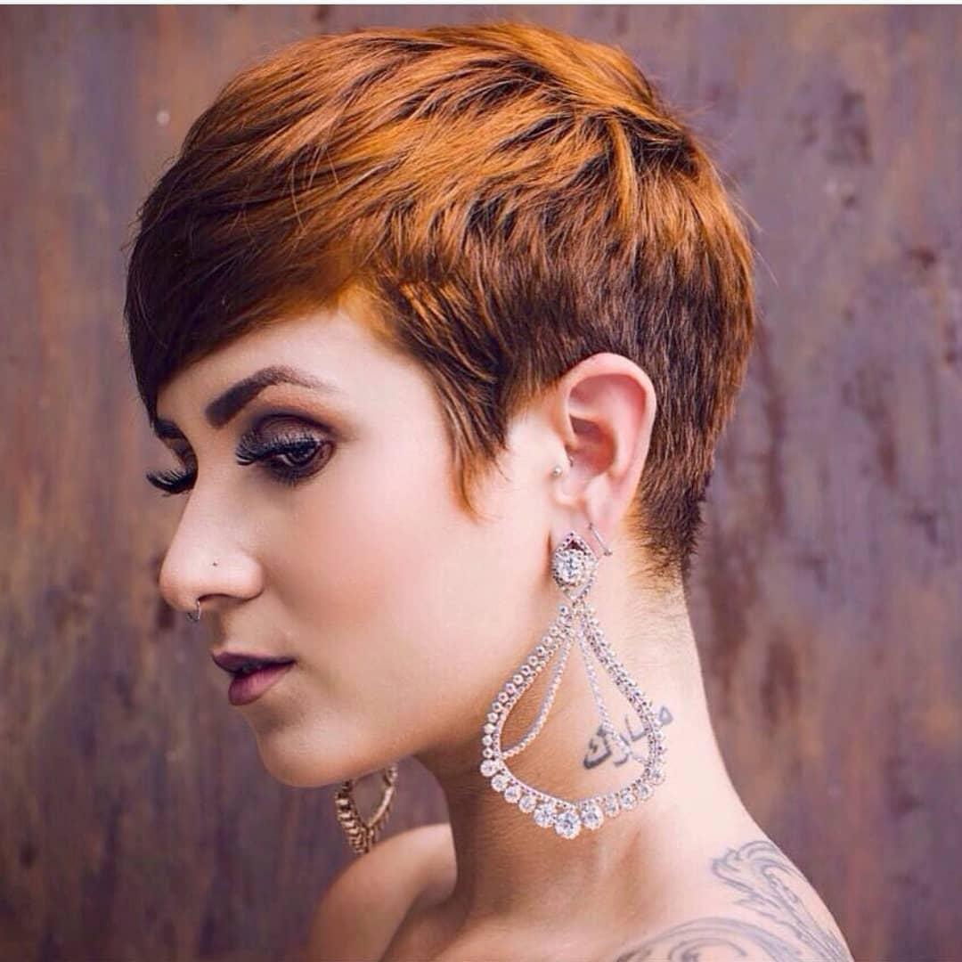 пикси для рыжих волос фото 11