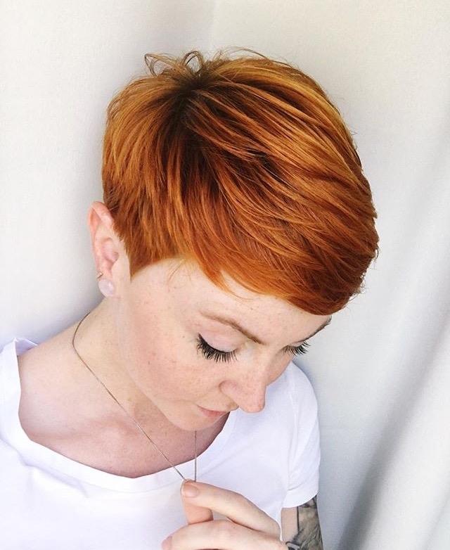 пикси для рыжих волос фото 1
