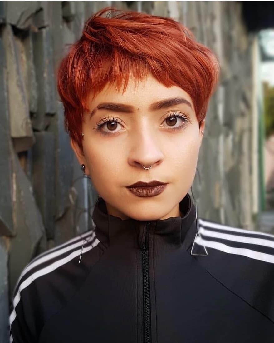 пикси для рыжих волос фото 17