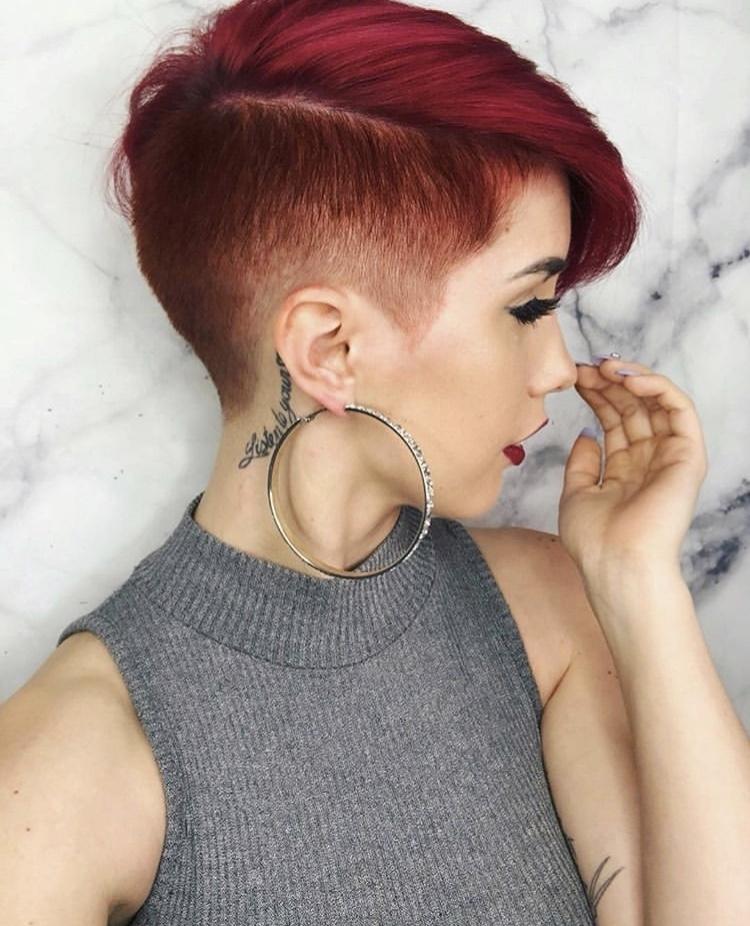 пикси для рыжих волос фото 6