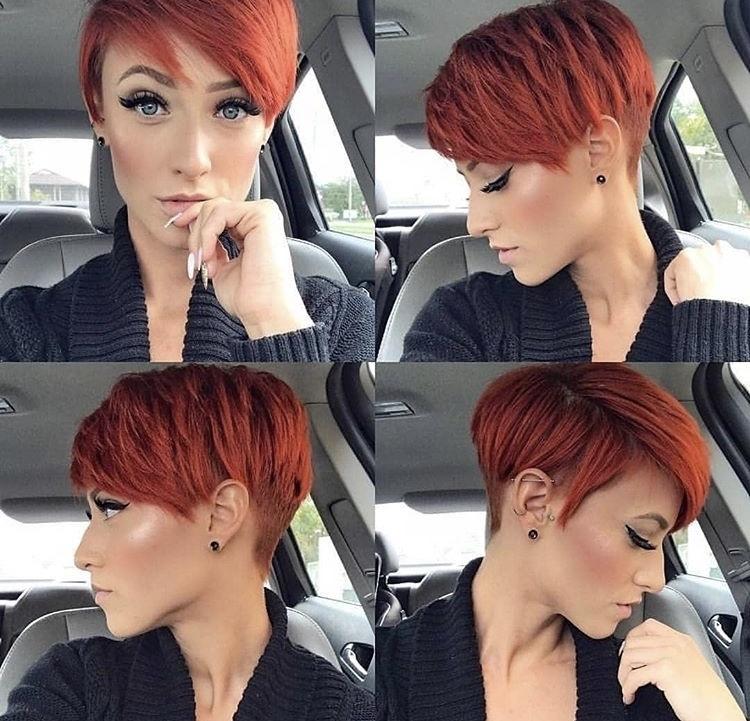 пикси для рыжих волос фото 3