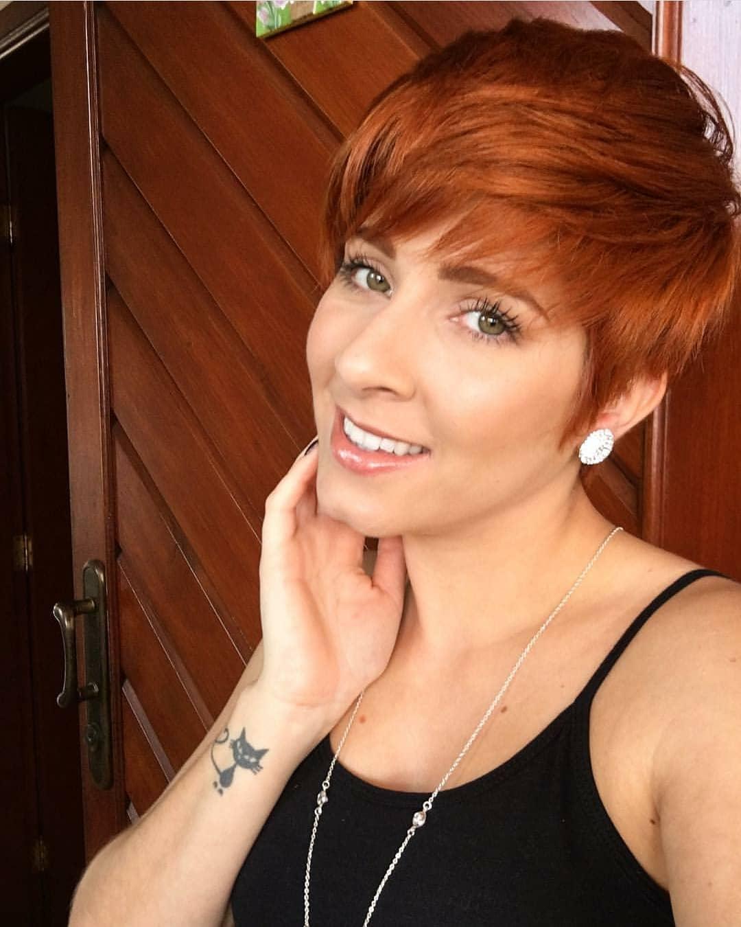 пикси для рыжих волос фото 15
