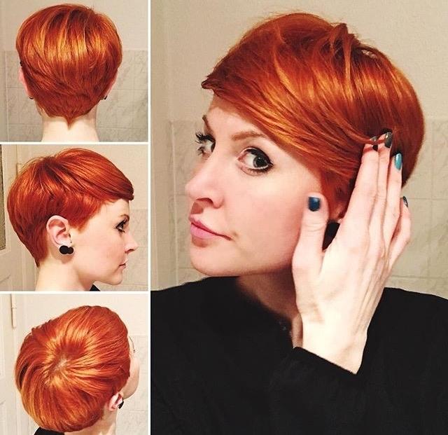 пикси для рыжих волос фото 2