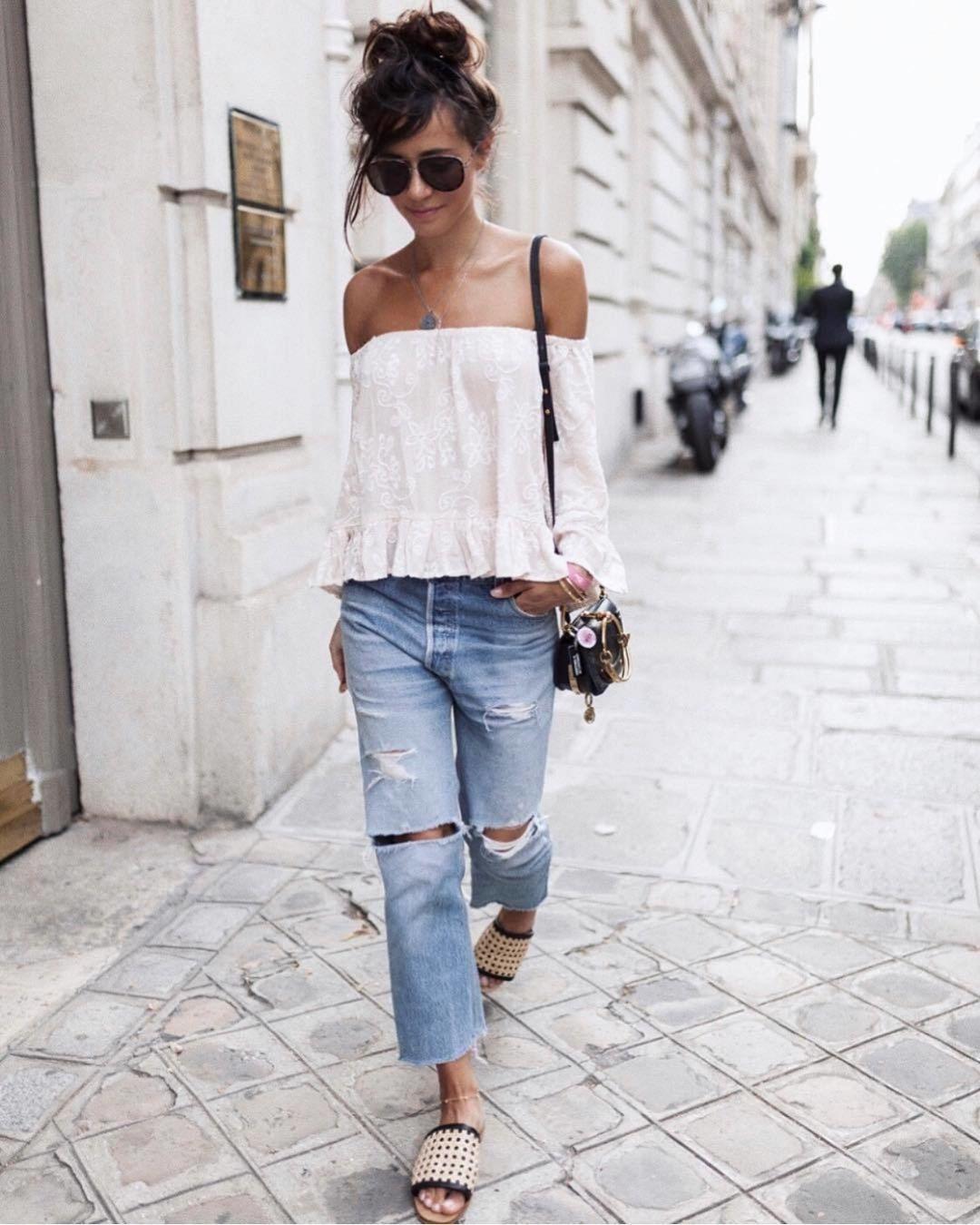 джинсы бойфренды фото 1