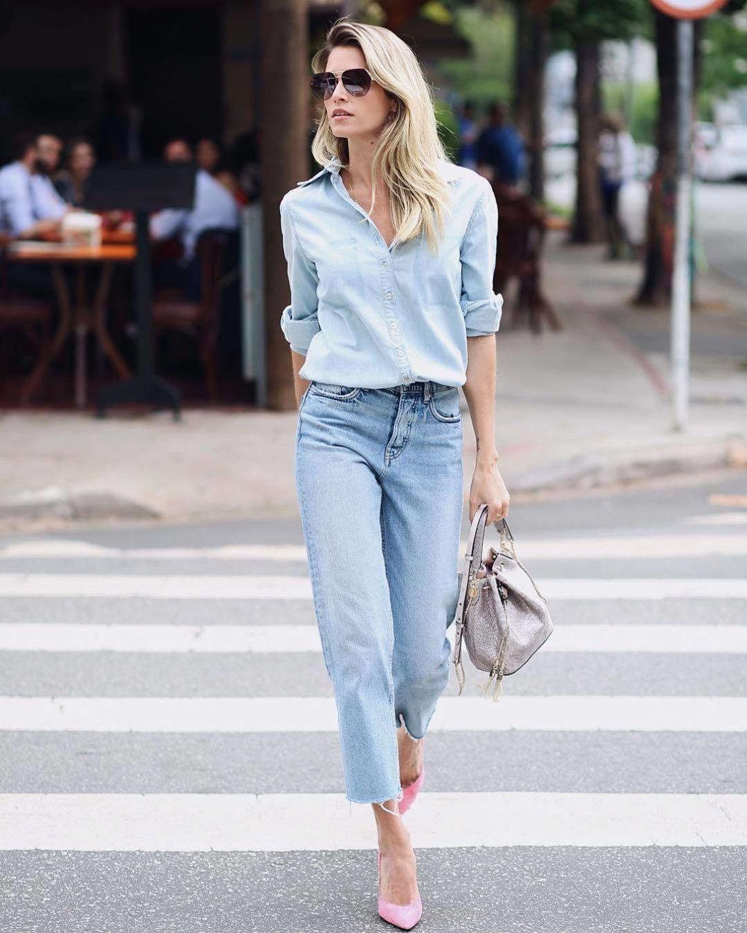с чем носить джинсы бойфренды фото 2