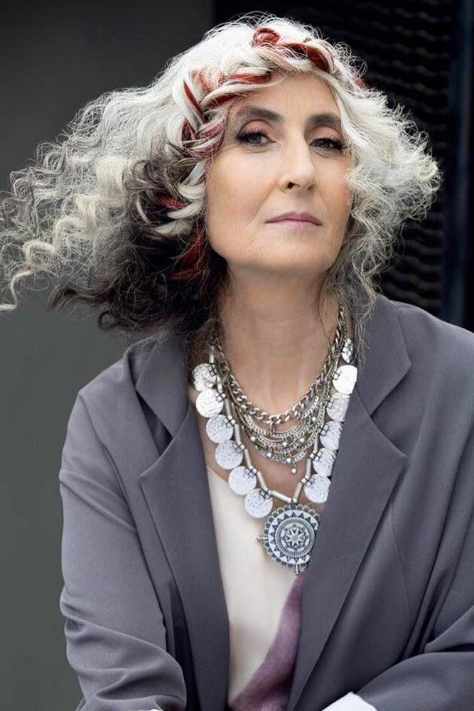 Причёски для женщин старше 60 лет фото 2