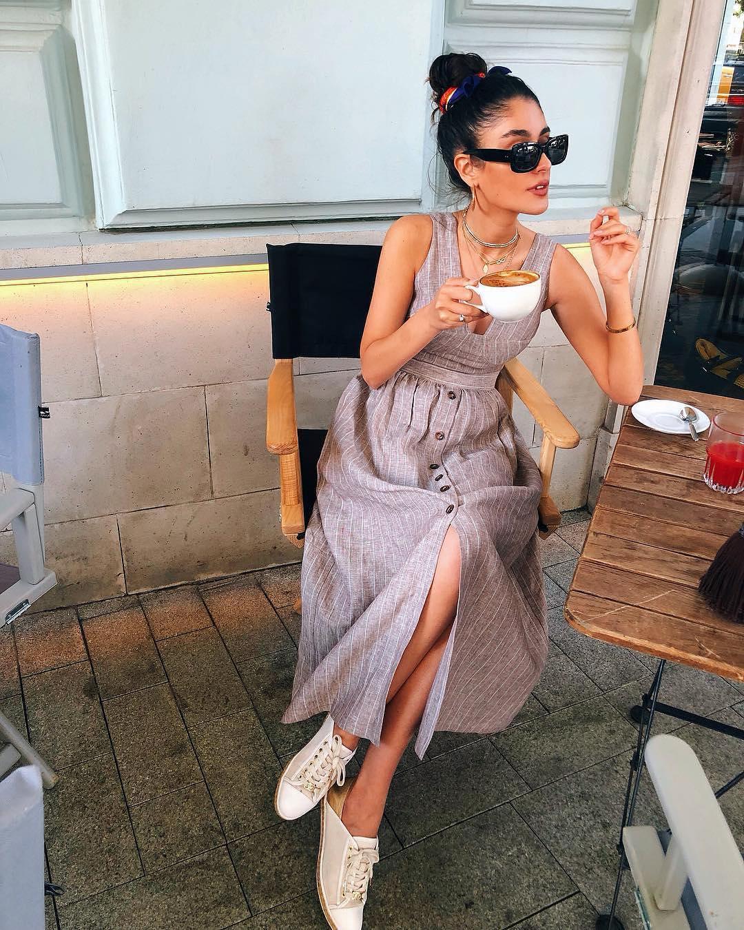 платья весна лето 2019 модные тенденции фото 31