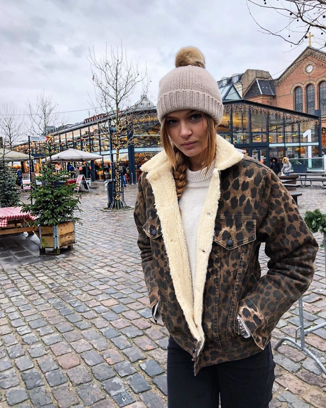 леопардовая куртка фото 11