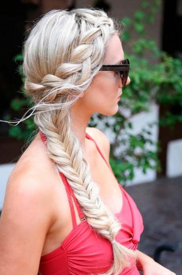 длинные волосы с косой челкой фото 34