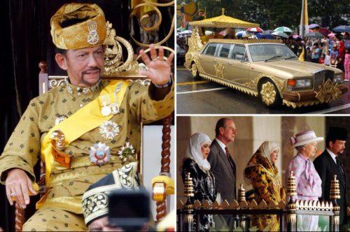 kakih masshtabov mozhet dostich fantazija sultana bruneja u kotorogo est nesmetnye bogatstva