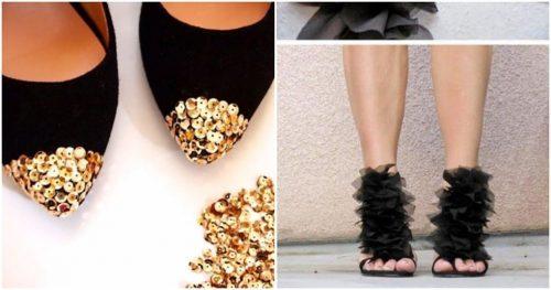 krasivye idei peredelki obuvi prosto stilno i so vkusom