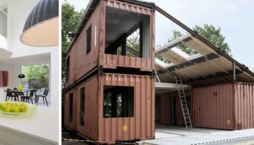 posmotrite kak tri staryh kontejnera prevratili v sovremennyj dom