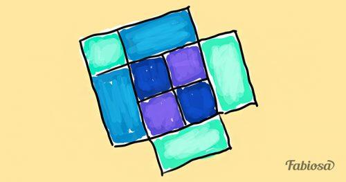 test na vnimatelnost skolko kvadratov na risunke