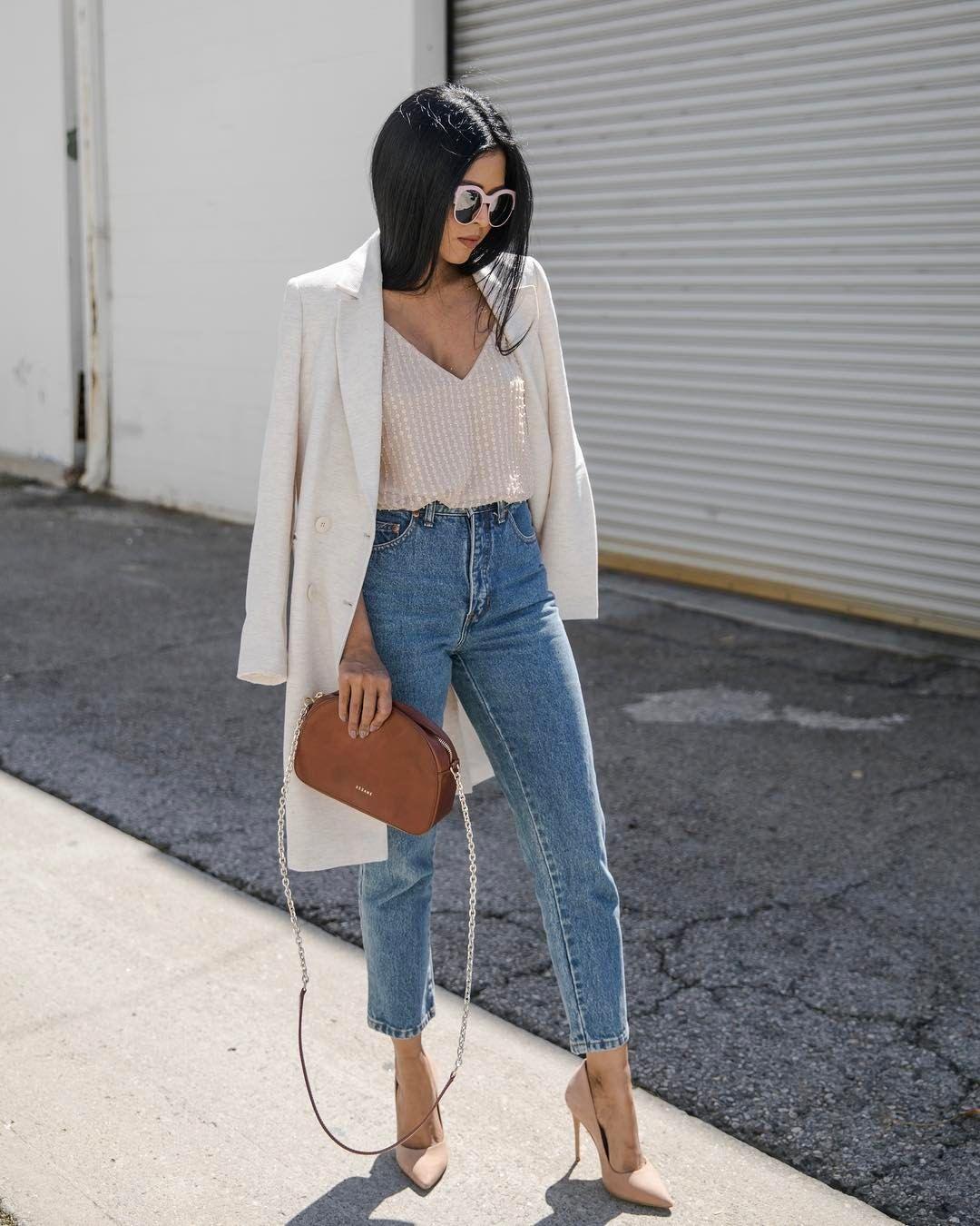джинсы в офис фото 6