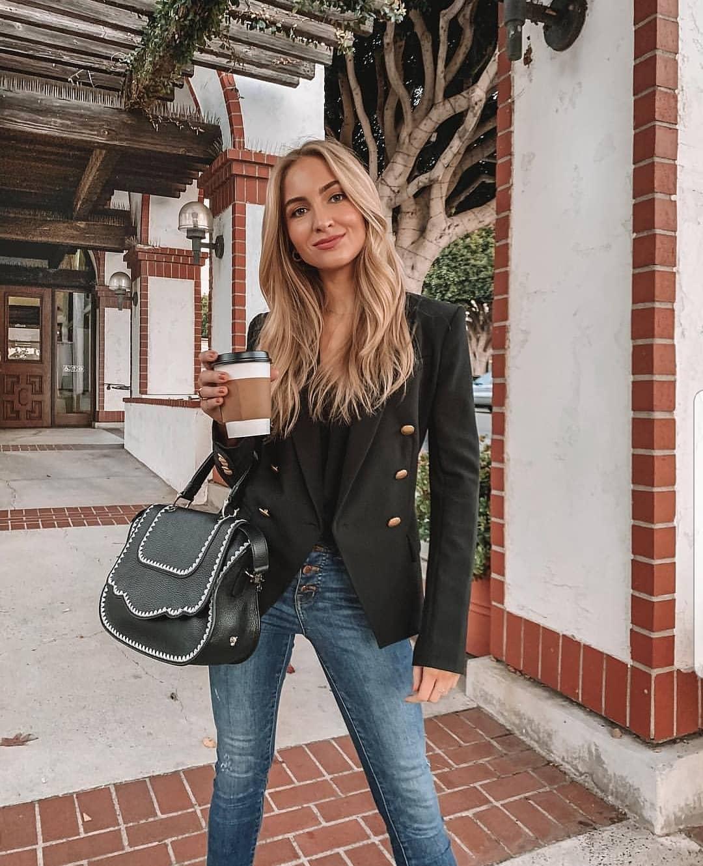 джинсы в офис фото 7