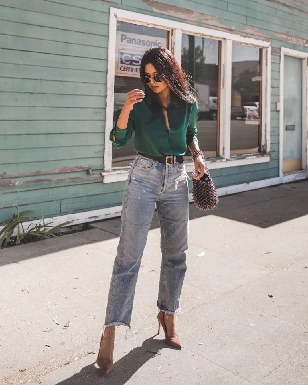 джинсы в офис фото 1