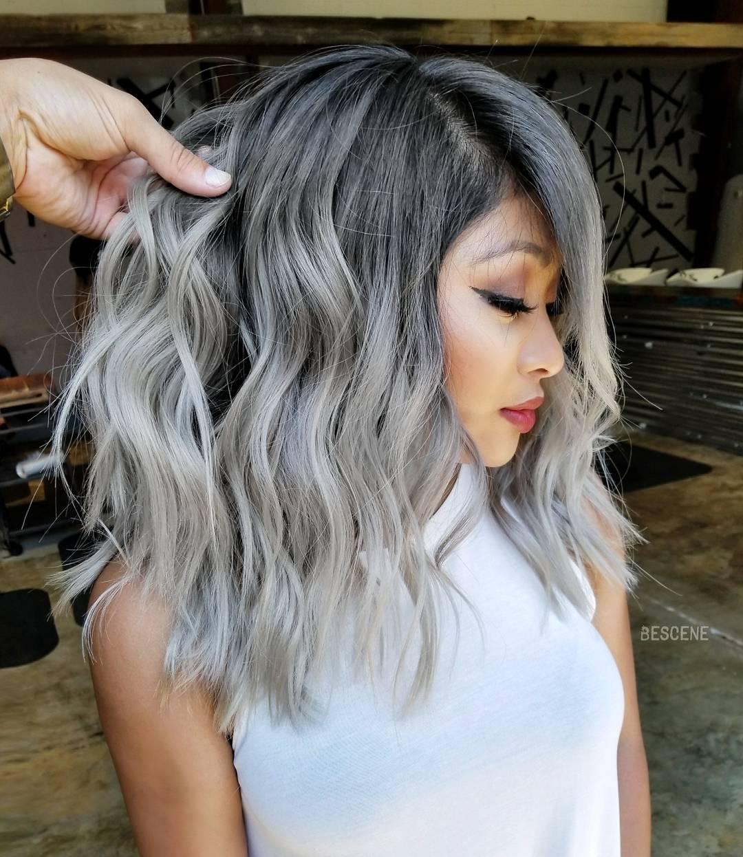 причёски для волос средней длины фото 14