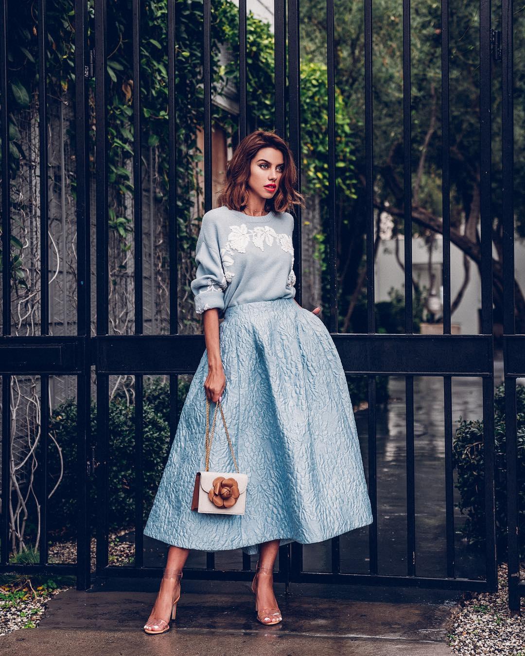 Высокая юбка фото