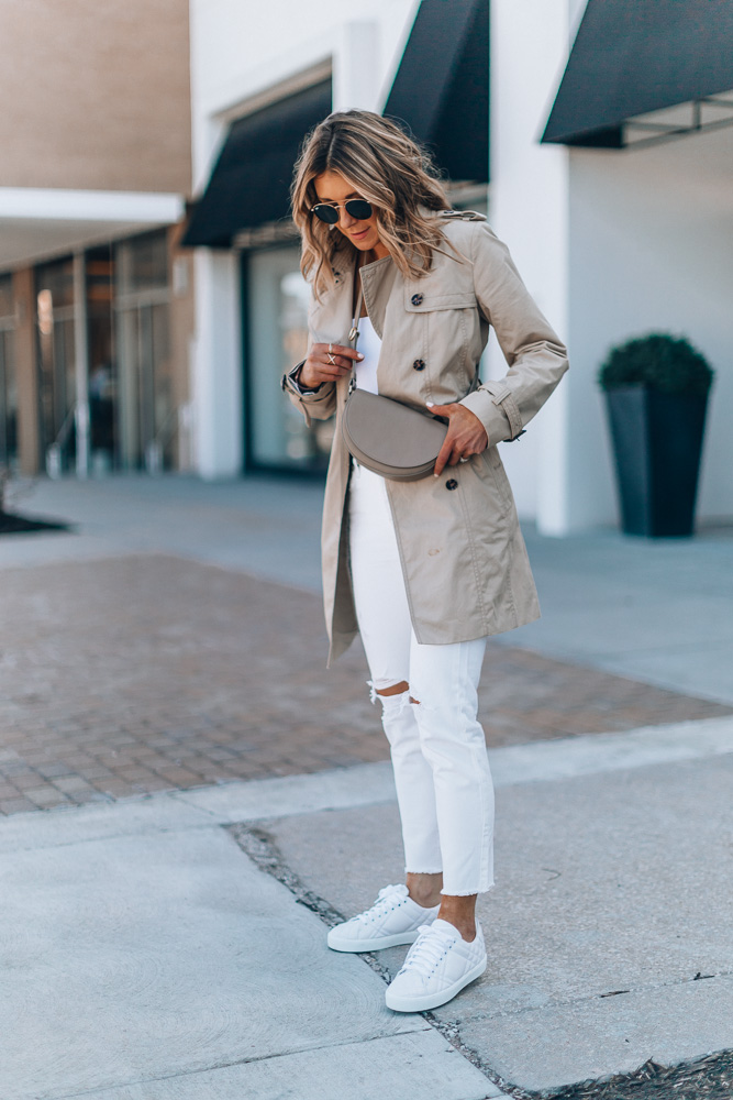 белые джинсы фото 14