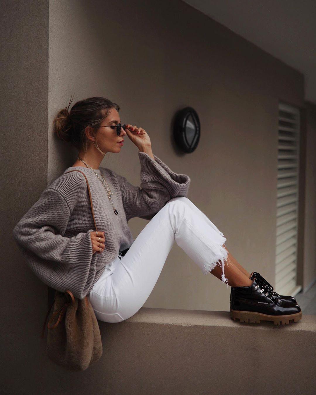 белые джинсы фото 1
