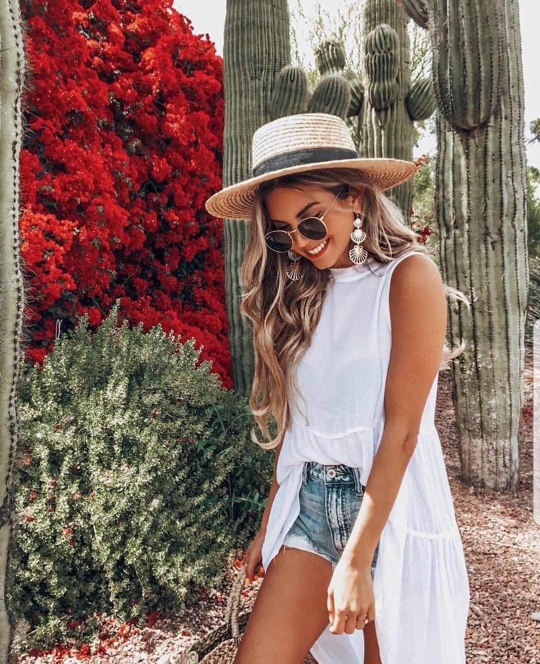 модные луки лето 2019 фото 13