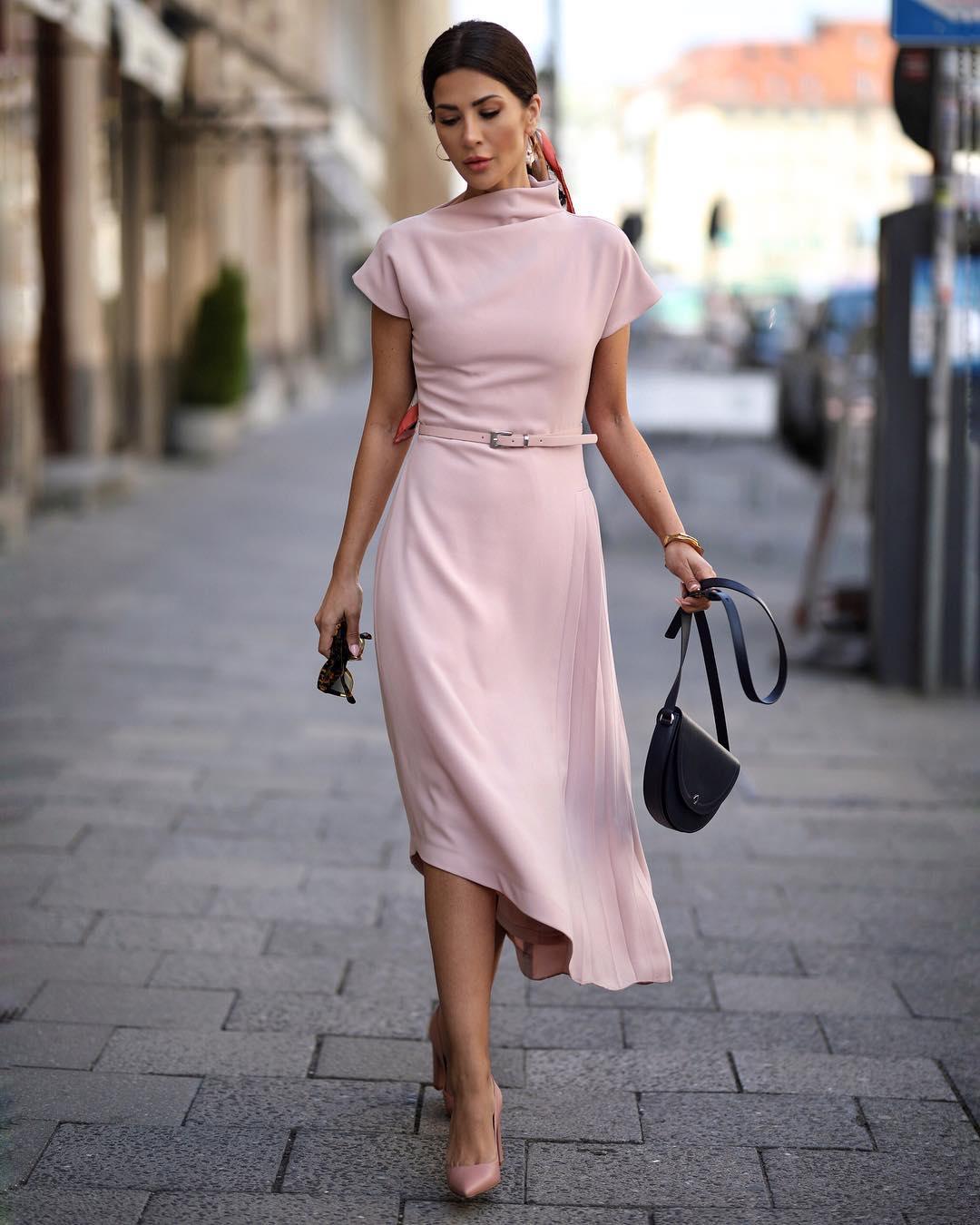 платья миди фото 4