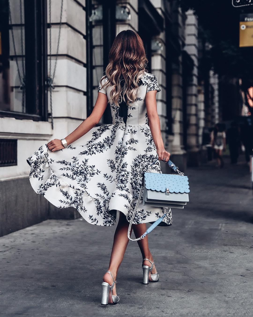 платья миди фото 7