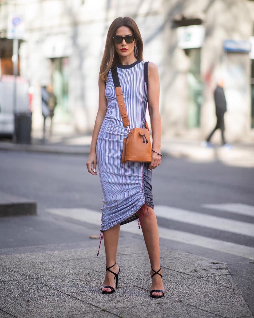 платья миди фото 5