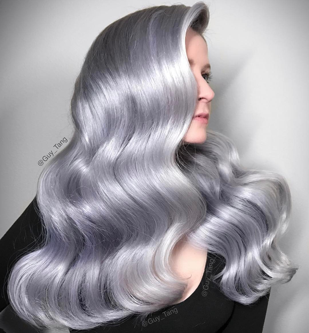Цвет волос металлик фото 1