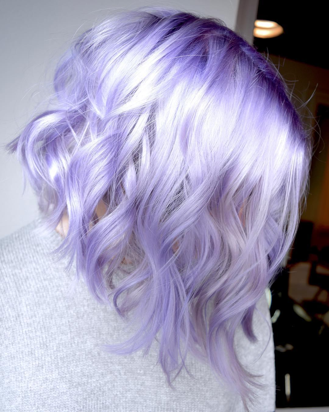 Цвет волос металлик фото 5