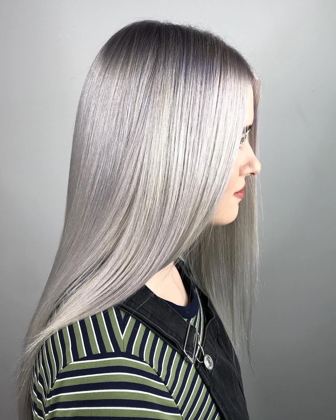 Цвет волос металлик фото 11